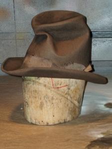 Tom Sawyer Distressed Hat