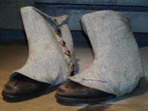 Tom Sawyer Distressed Spats