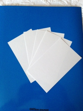 Is there anything worse than blank cards staring at you in the face?